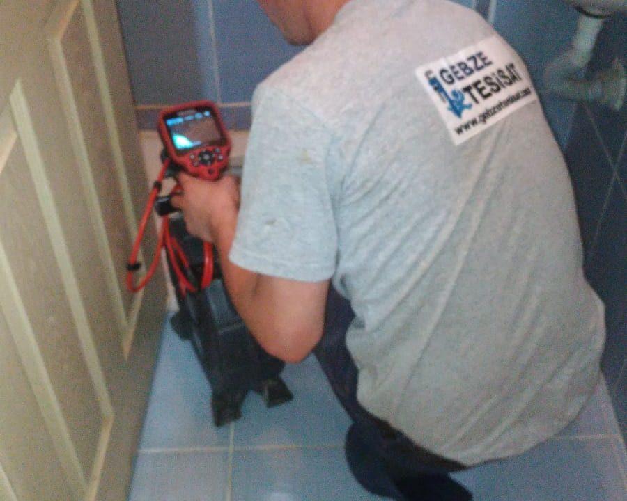 kameralı su kaçı tespiti
